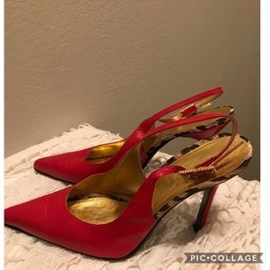 Dolce and gabbana lipstick red heels size 9